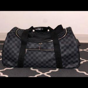 Louis Vuitton Duffle Neo Eole 55 Damier Rolling